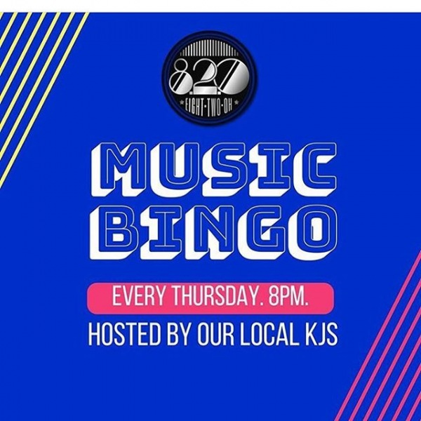 TONIGHT!! Join us for Music Bingo @820clt We will have VIP booths reserved just for you plus free pizza, drinks and prizes! The best part? It's right next door! We hope to see you there!